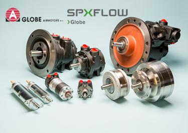 Aircontrol es el distribuidor oficial de Motores neumáticos SPXFLOW GLOBE