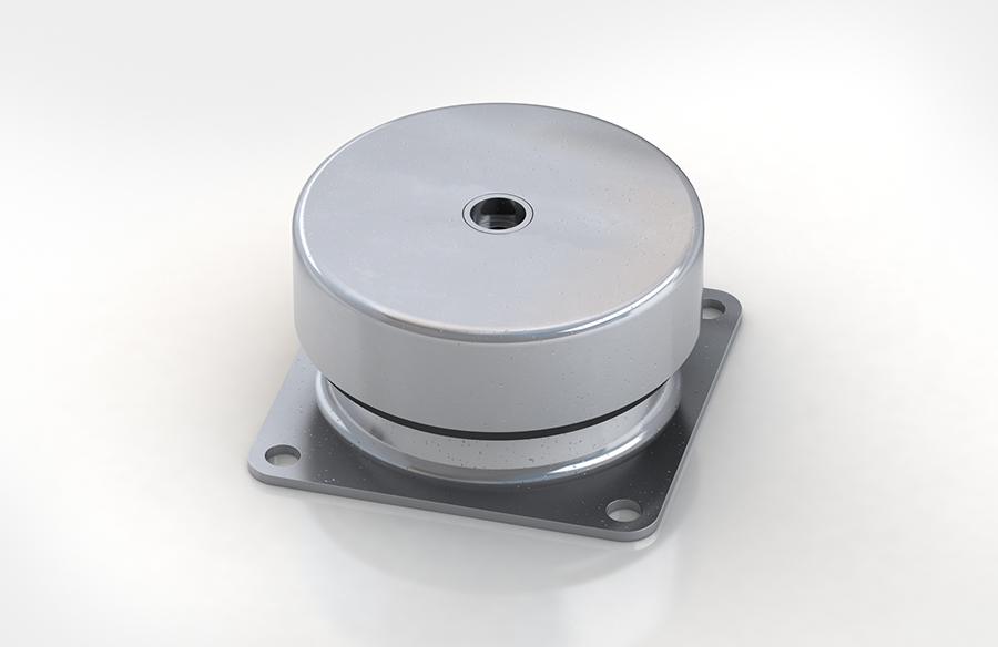 Aircontrol distribuye aisladores de caucho-metal ACE modelo CM. Soportes de copa.