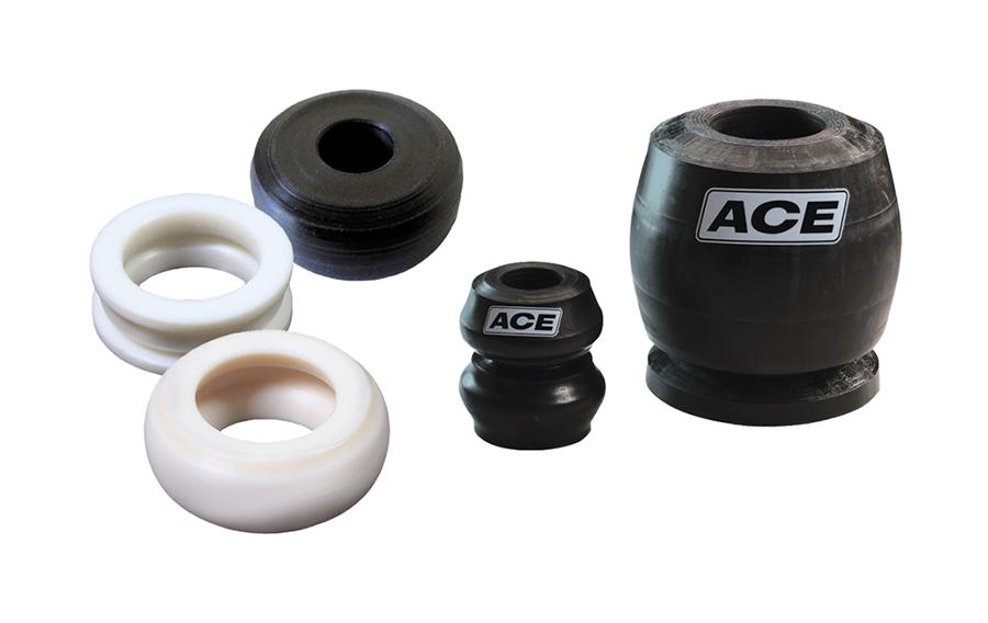 Aircontrol distribuye Tubus, amortiguadores de perfil especiales para prensas de la marca ACE para control de automoción