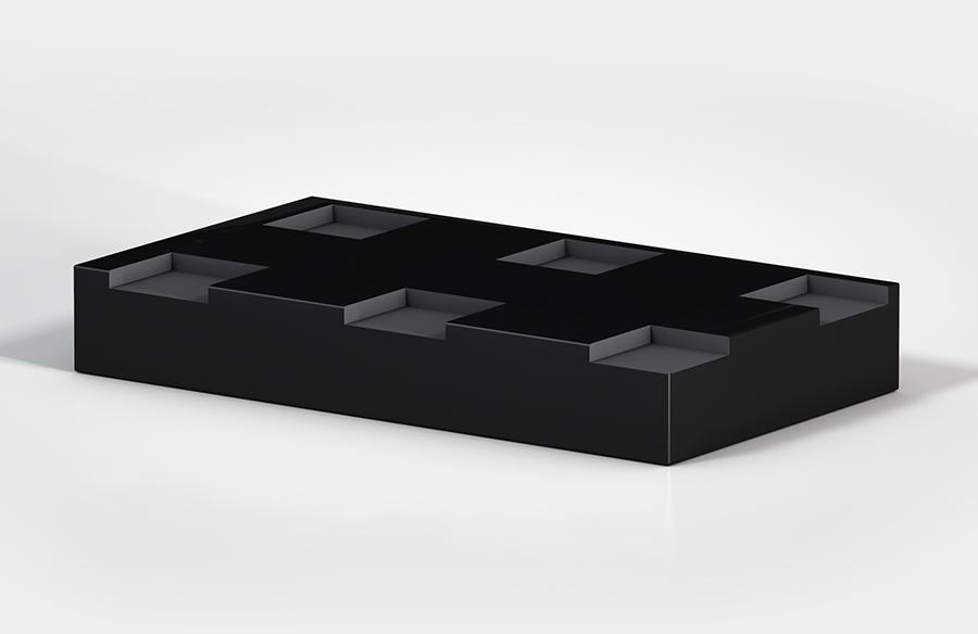 Aircontrol distribuye aisladores de caucho-metal ACE modelo Placas CEL.