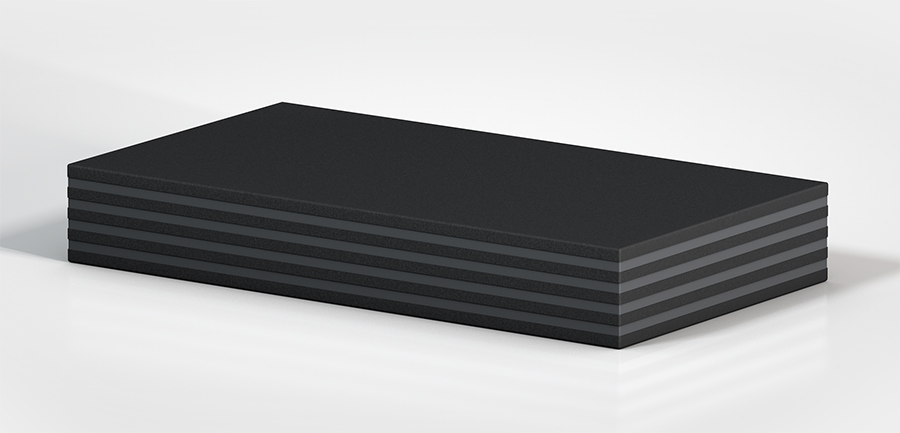 Aircontrol distribuye aisladores de caucho-metal ACE modelo Placas PAD.
