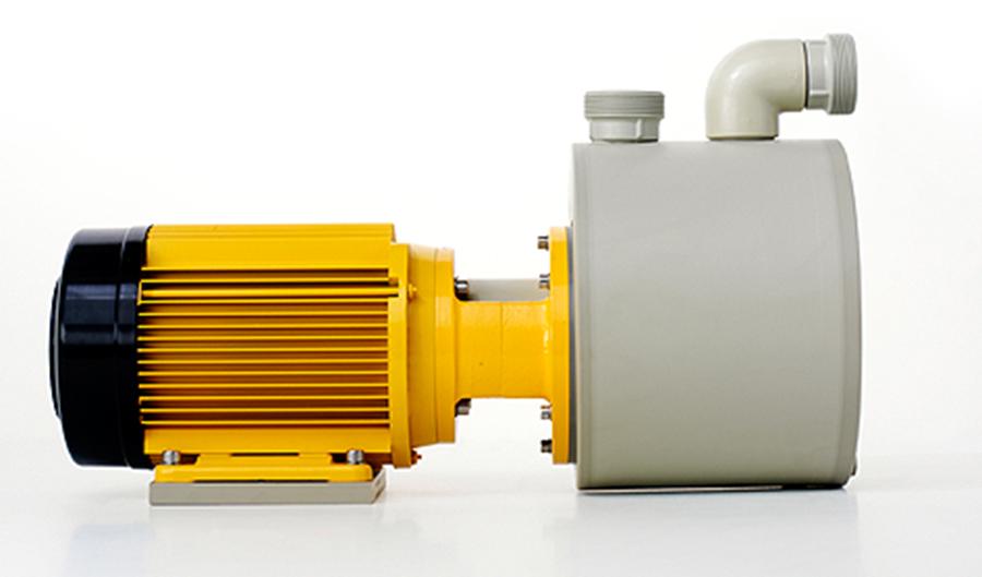 Aircontrol distribuye la Serie S: Bombas centrífugas no metálicas, selladas mecánicamente con junta simple, autocebantes Schmitt