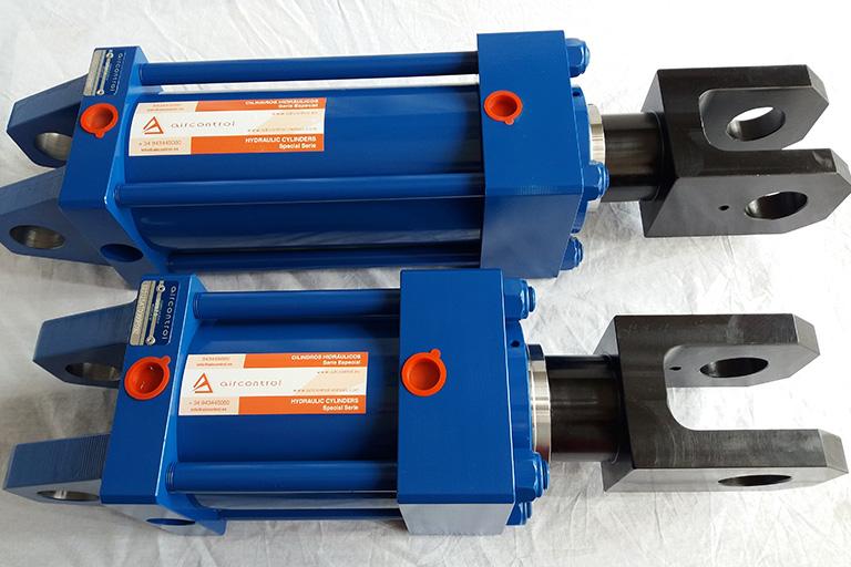 Aicontrol fabrica y distribuye cilindros hidráulicos especiales