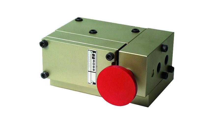 Aircontrol distribuye válvulas para la industria del vidrio, Cabeza de soplado encendido/apagado