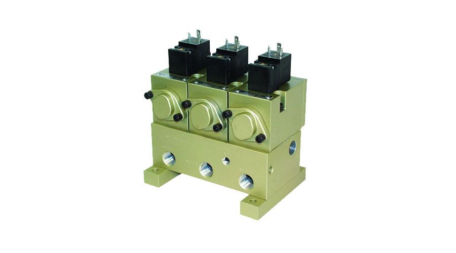 Aircontrol distribuye válvulas para la industria del vidrio, Enfriamiento con émbolo arriba o abajo