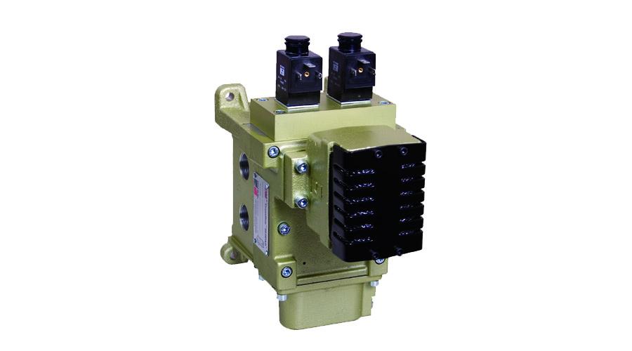 Aircontrol distribuye Soluciones relacionadas con la seguridad en prensas, Válvula doble DM2 para el control de embrague/freno
