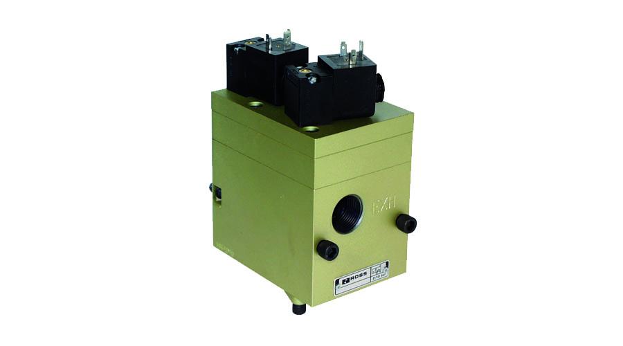Aircontrol distribuye válvulas para la industria del vidrio, Vacío de contrasoplado o presión Hi-Lo