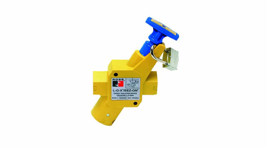 Aircontrol distribuye Soluciones relacionadas con la seguridad ROSS: Válvula combinada L-O-X con función EEZ-ON, L-O-X/EEZ-ON, Cat.1