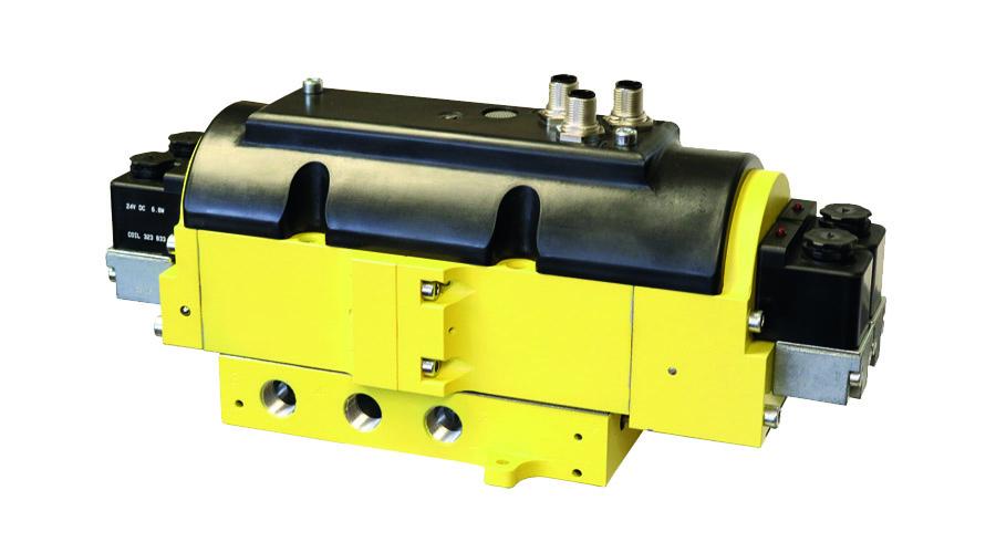 Aircontrol distribuye Soluciones relacionadas con la seguridad con retorno seguro del cilindro Válvulas dobles con control seguro Serie CC4, CrossCheck