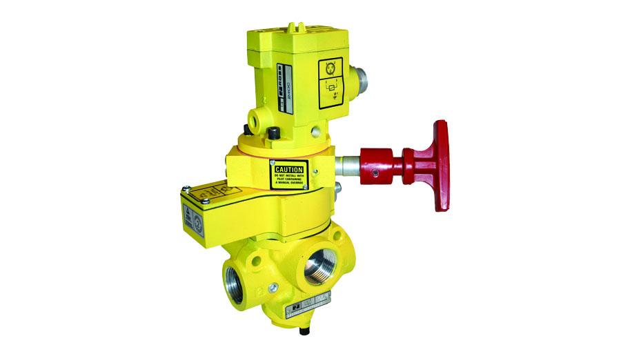 Aircontrol distribuye Soluciones relacionadas con la seguridad válvulas de detección de posición del pistón con bloqueo manual L-O-X