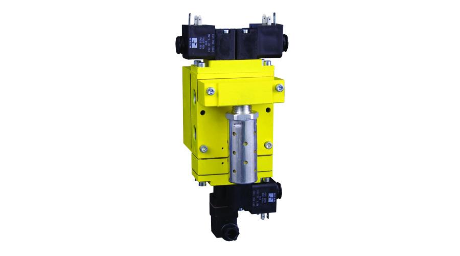 Aircontrol distribuye Soluciones relacionadas con la seguridad válvulas dobles DM2 Serie E