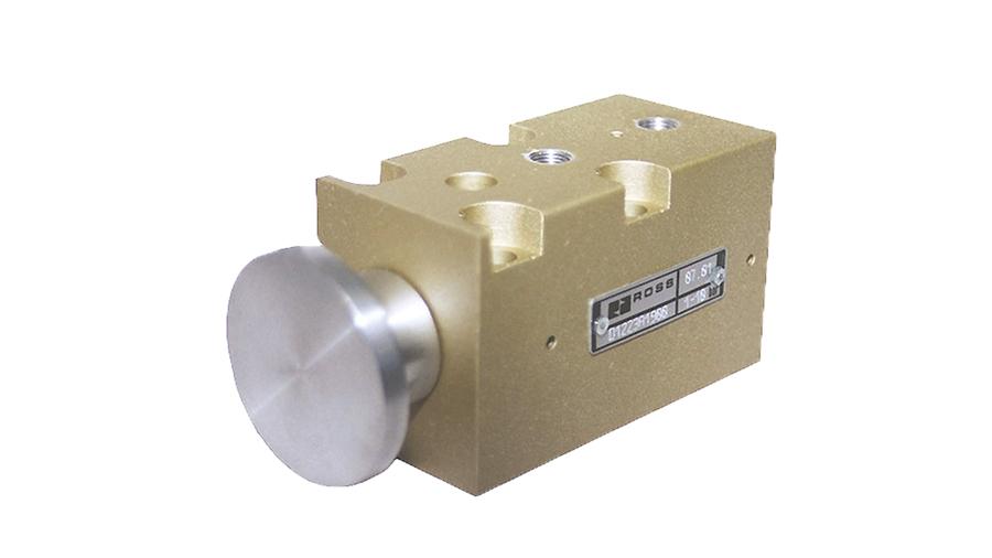 Aircontrol distribuye válvulas para la industria del vidrio, Válvula Kick-Off