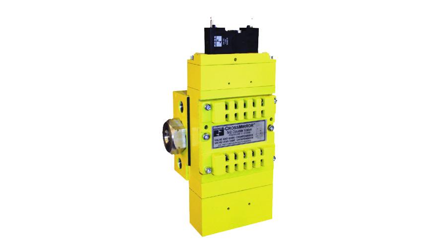 Aircontrol distribuye Soluciones relacionadas con la seguridad con retorno seguro del cilindro, Serie crossmirror CM2