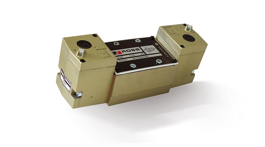 Aircontrol Válvulas de corredera metal-metal ROSS ANSI Serie W70.