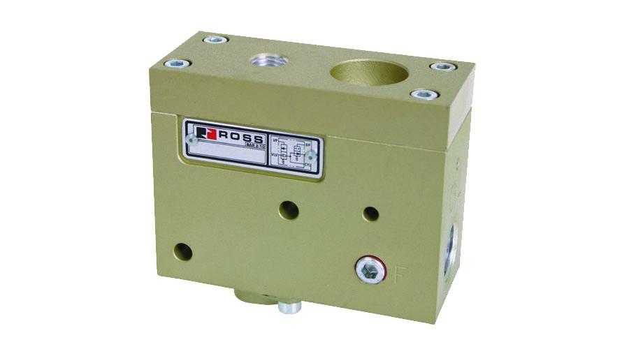 Aircontrol distribuye Soluciones relacionadas con la seguridad con retorno seguro del cilindro Válvulas de retención PO con o sin descarga de presión