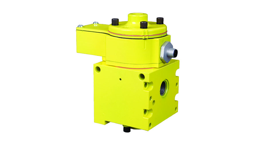 Aircontrol distribuye Soluciones relacionadas con la seguridad con retorno seguro del cilindro Válvula de retención con detector de posición del pistón, accionada por piloto SV27